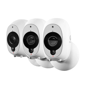 SWANN Wire-Free Smart Security Camera - 3 Pack