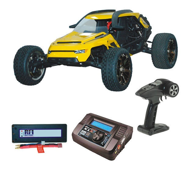 Scale 2WD Hammerhead Brushless RC Buggy  - BATTERY AND CHARGER BUNDLE