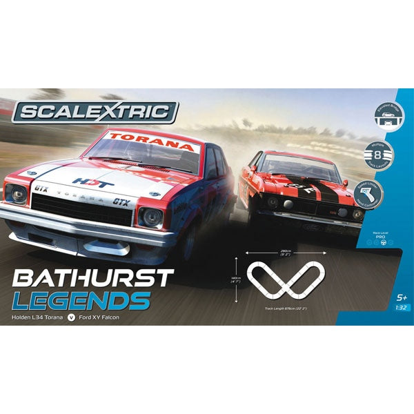 SCALEXTRIC Bathurst Legends Slot Car Set