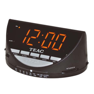 TEAC Alarm Clock Radio with Jumbo Display
