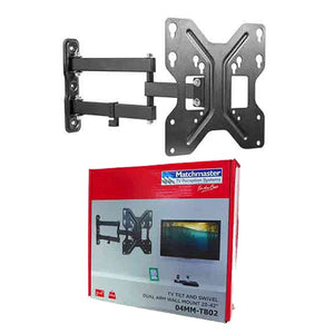 MATCHMASTER Tilt and Swivel Dual Arm TV Bracket for TV's 23 - 42Inch