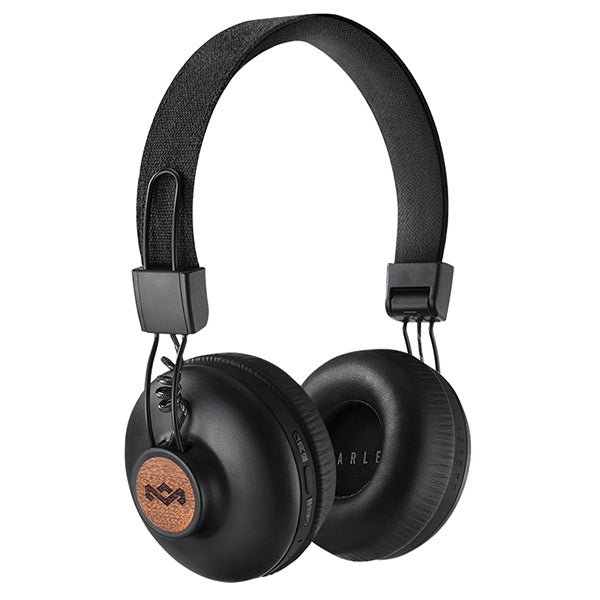 THE HOUSE OF MARLEY 'Positive Vibration 2' Bluetooth Wireless Headphones - Black