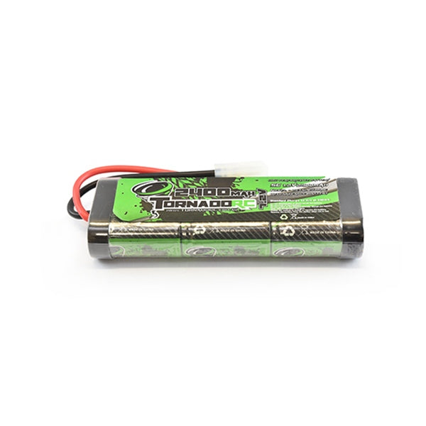 TORNADO RC 2400MAh 7.2 Volt NiMH Battery with Deans Connector
