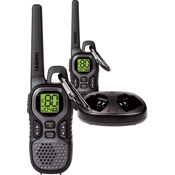 UNIDEN Ultra Compact UHF Handheld Radio Twin Pack