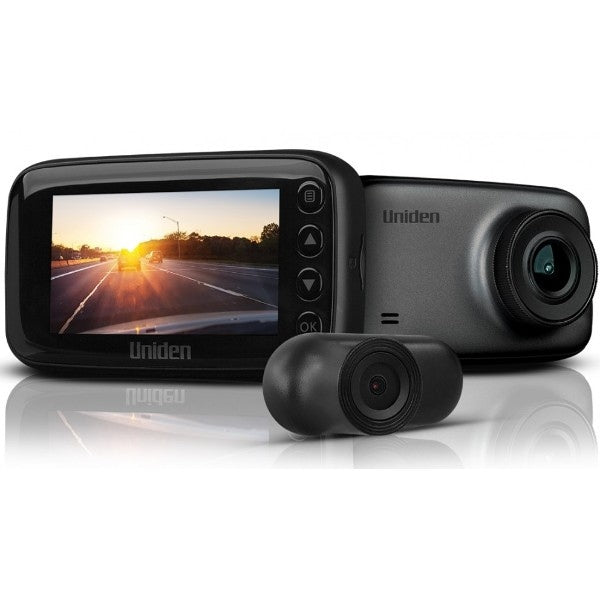 UNIDEN Full HD Smart Dash Cam With 2.7? LCD Colour Screen and Rear View Camera