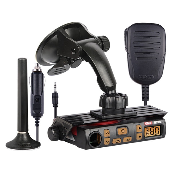 GME 5W Plug 'n' Play UHF Radio Kit