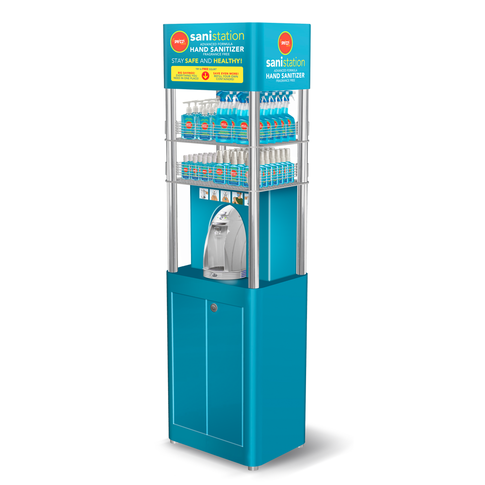 SPRiZZi Retail Self Serve Sani~Station