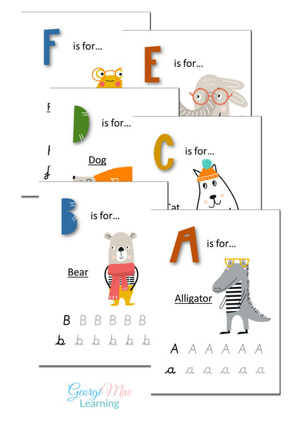 ABC Animal Alphabet