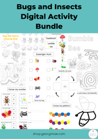 Bugs and Insects Digital Activity Bundle