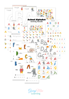 Animal ABC Activity Bundle