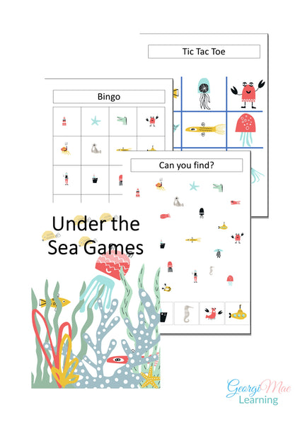 Under the Sea Themed Games
