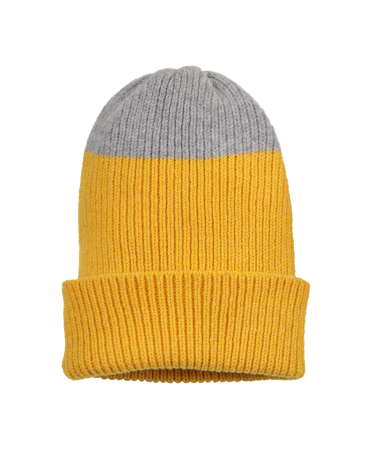 Top Tip Lambswool Hat • Yellow
