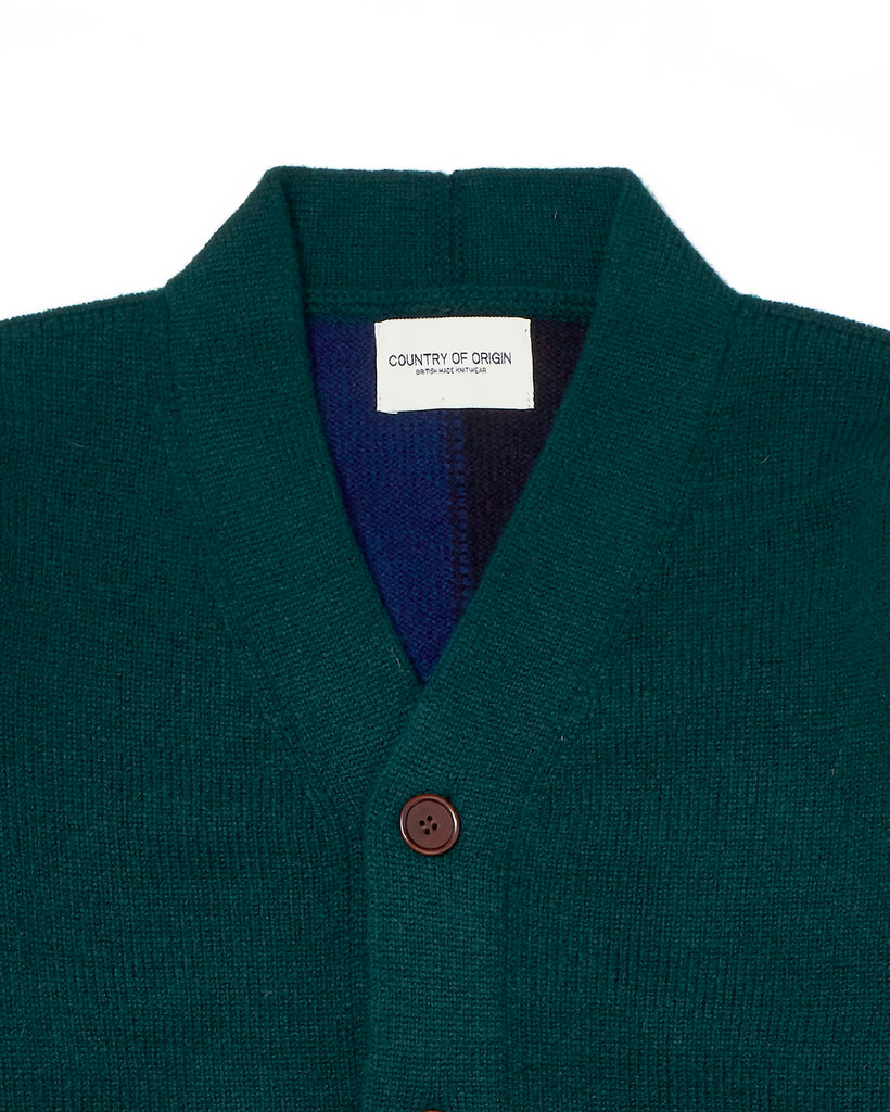 Quarter-Back Cardi • Green