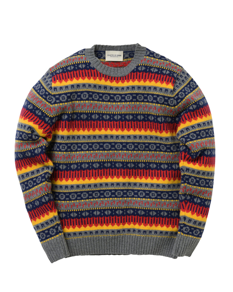 Fairisle Lambswool • Yellow