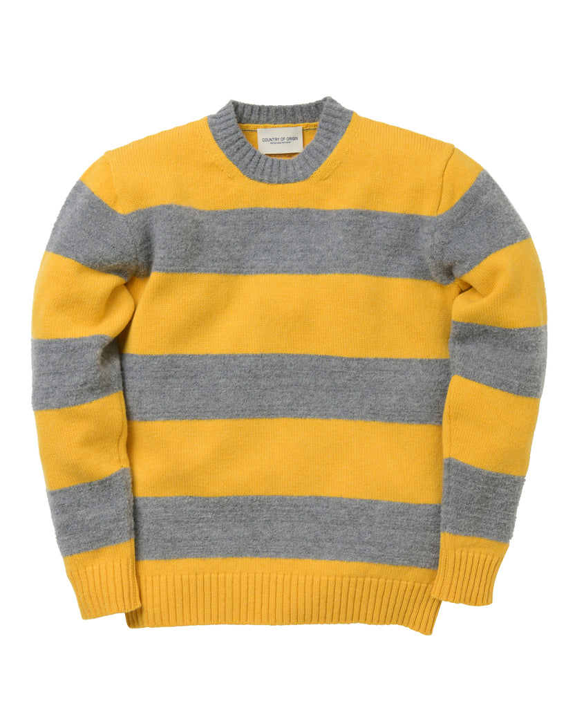 Fleece Stripe • Yellow