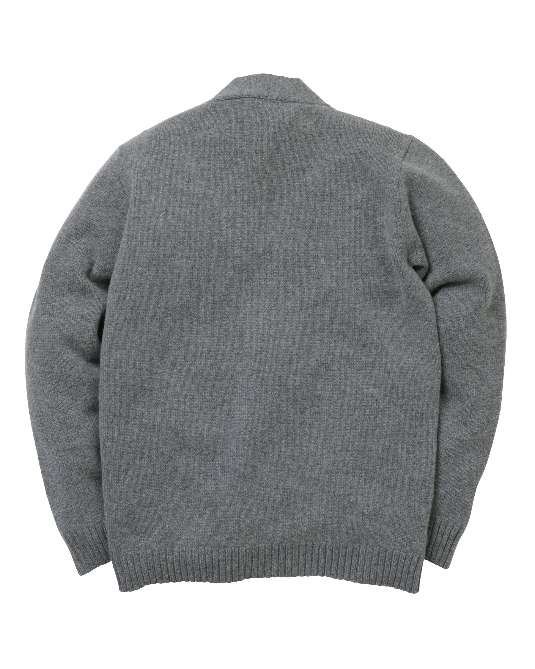 Cardigan Lambswool • Grey