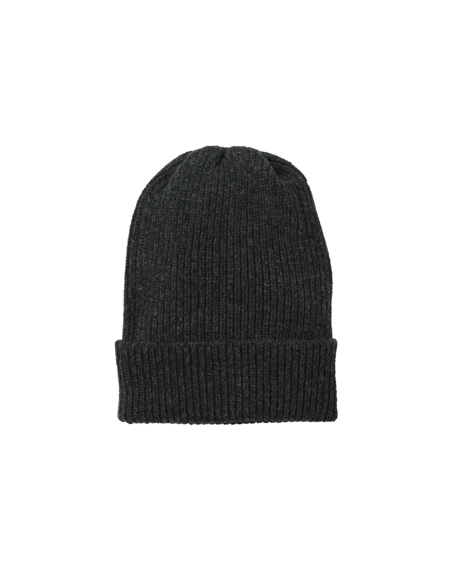 Staple Lambswool Hat • Charcoal