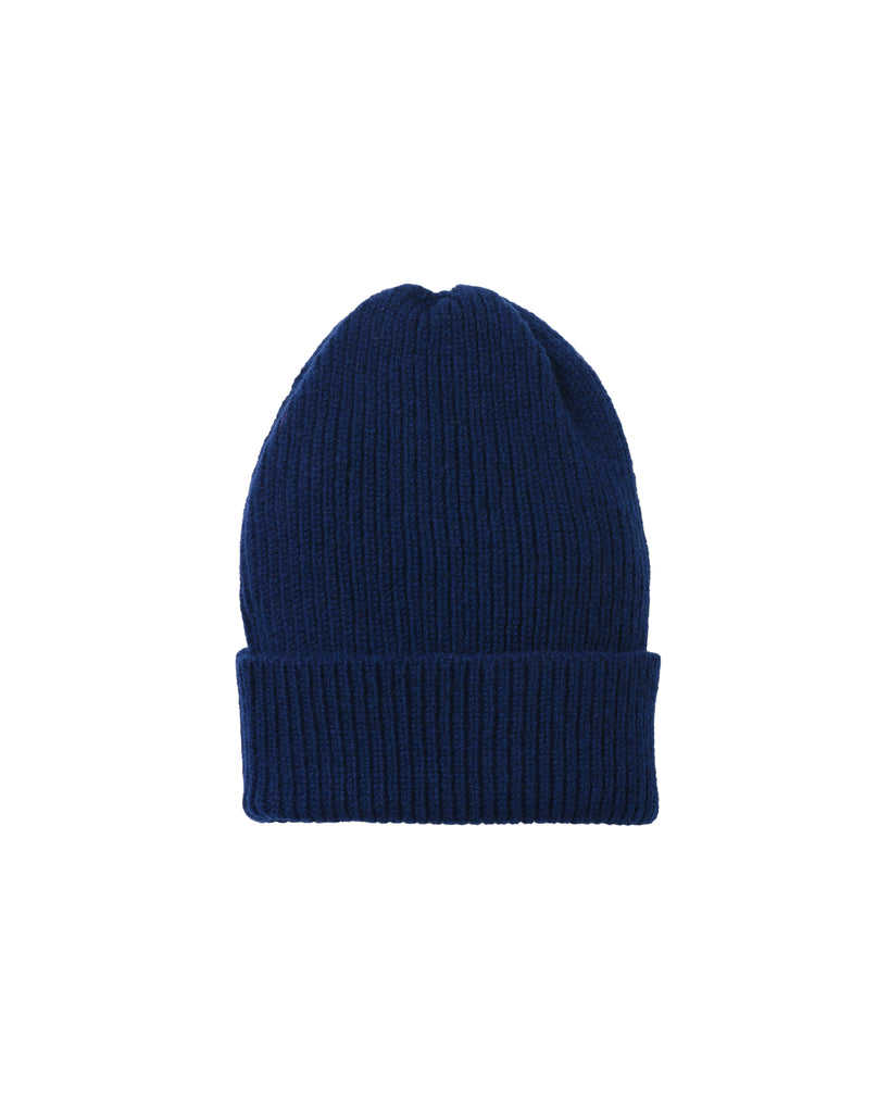 Staple Lambswool Hat • Light Navy