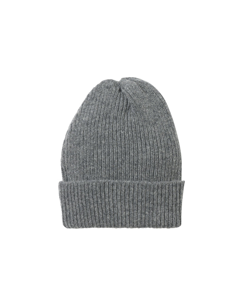 Staple Lambswool Hat • Dark Grey