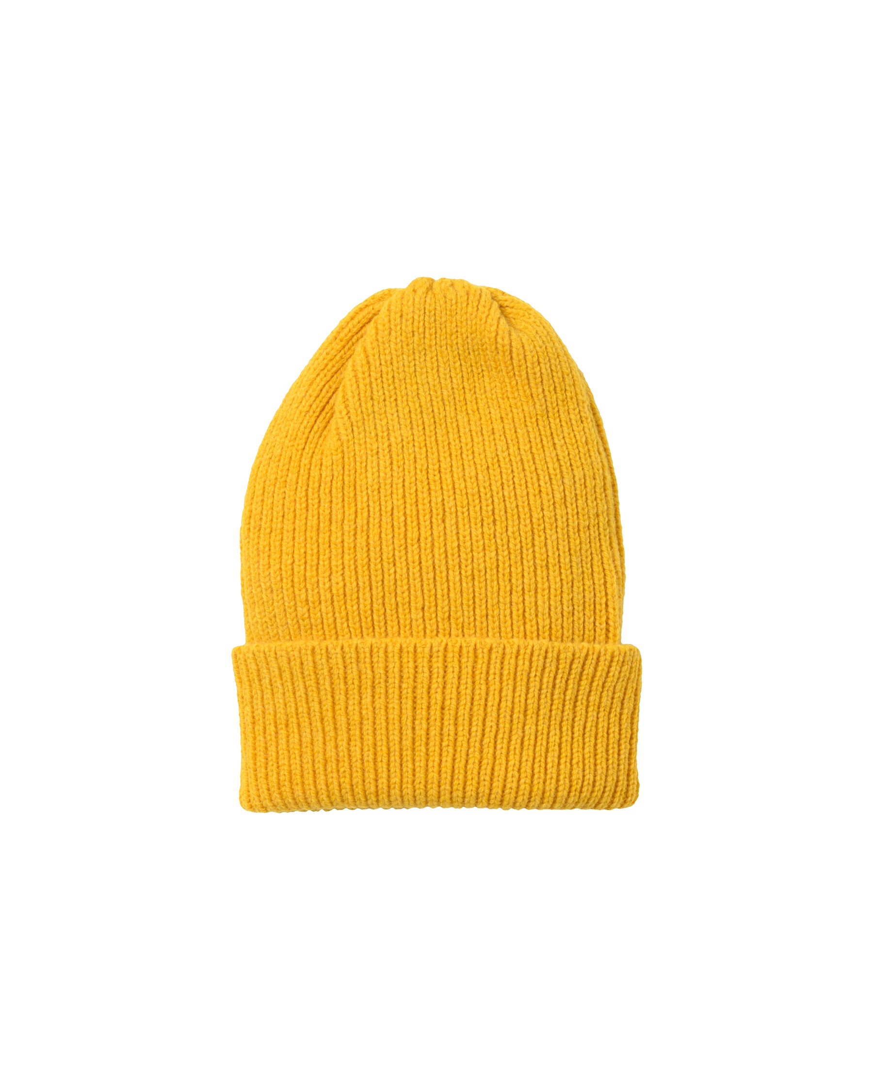 Staple Lambswool Hat • Yellow