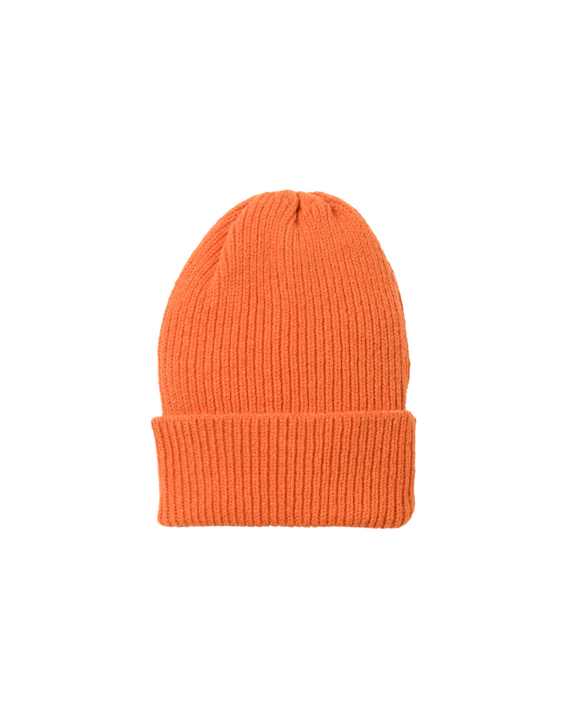 Staple Lambswool Hat • Orange