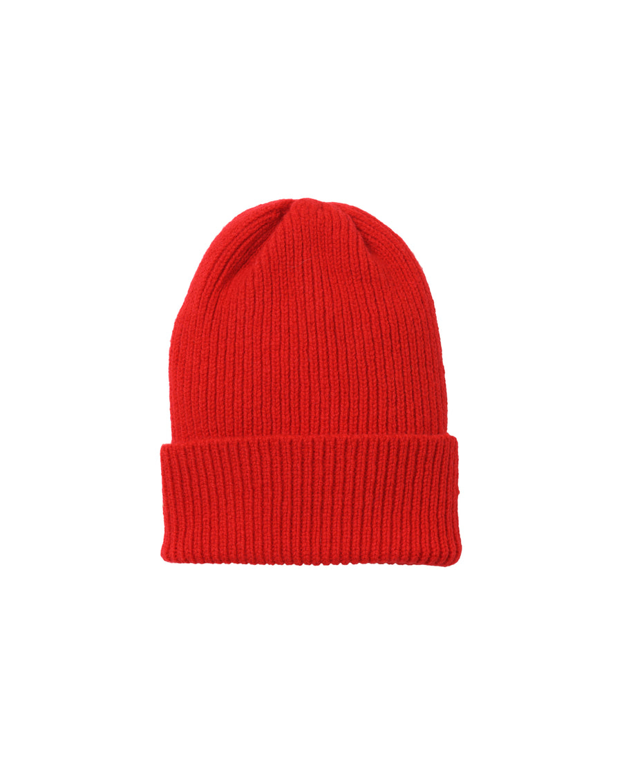 Staple Lambswool Hat • Red