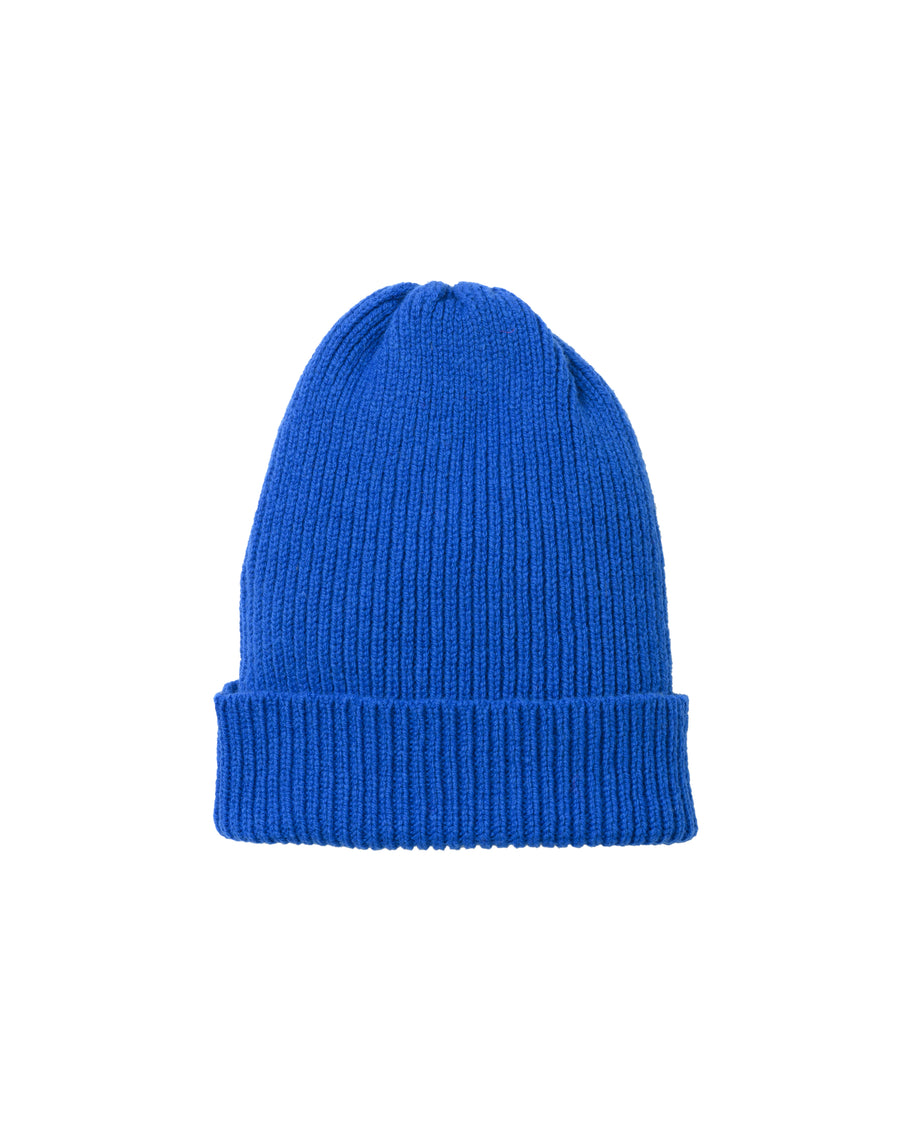 Staple Lambswool Hat • Blue