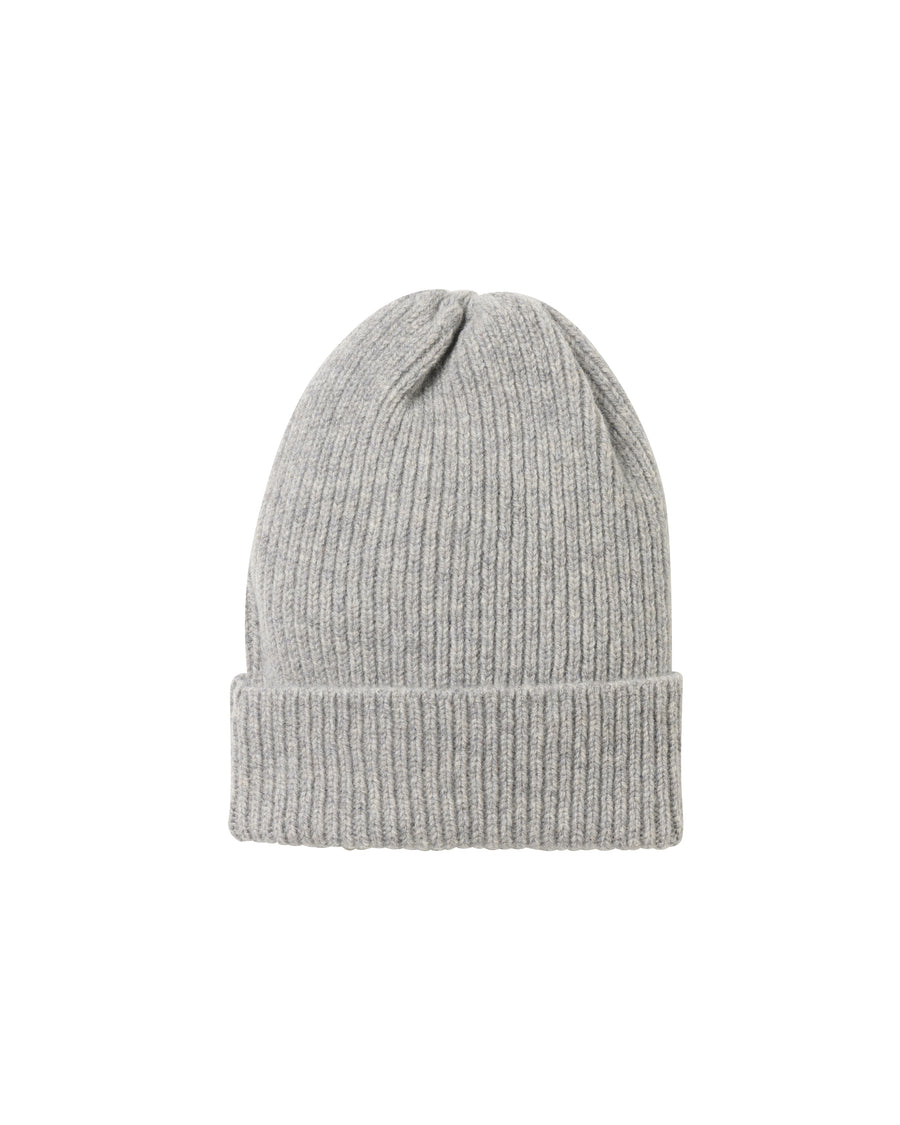 Staple Lambswool Hat • Light Grey