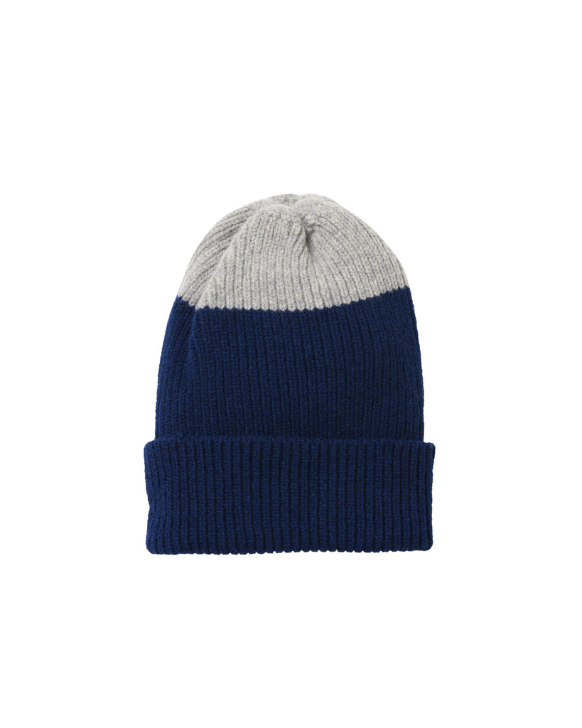 Top Tip Lambswool Hat • Navy