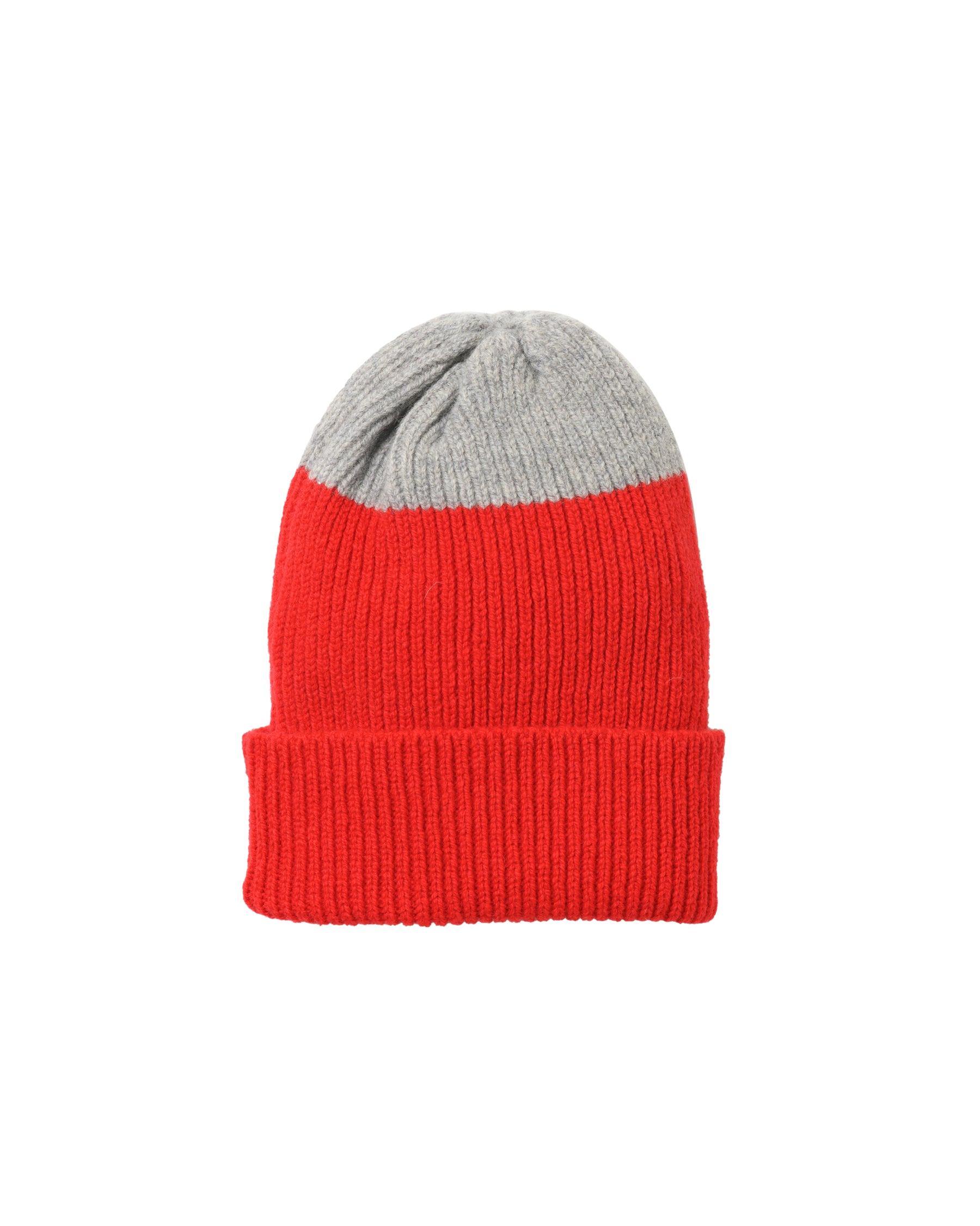 Top Tip Lambswool Hat • Red