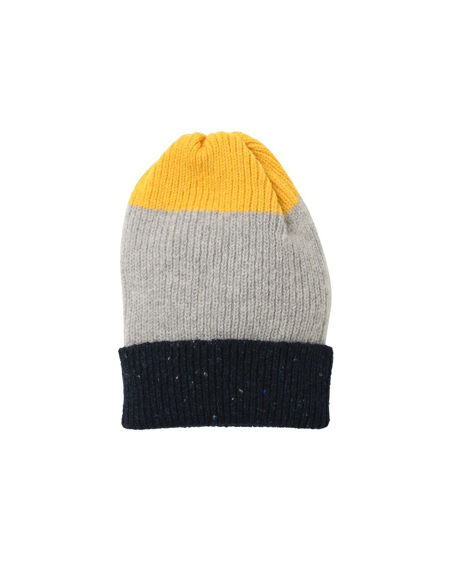 Tri-Fabric Hat • Yellow