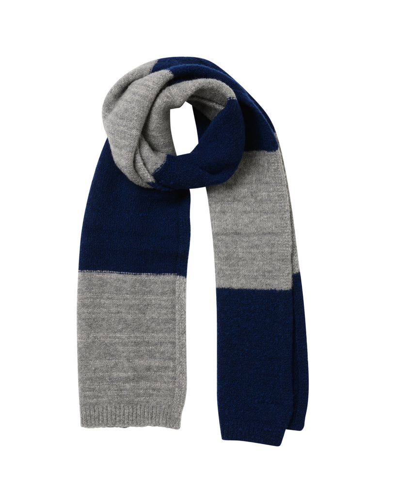 Striped Fleece Scarf