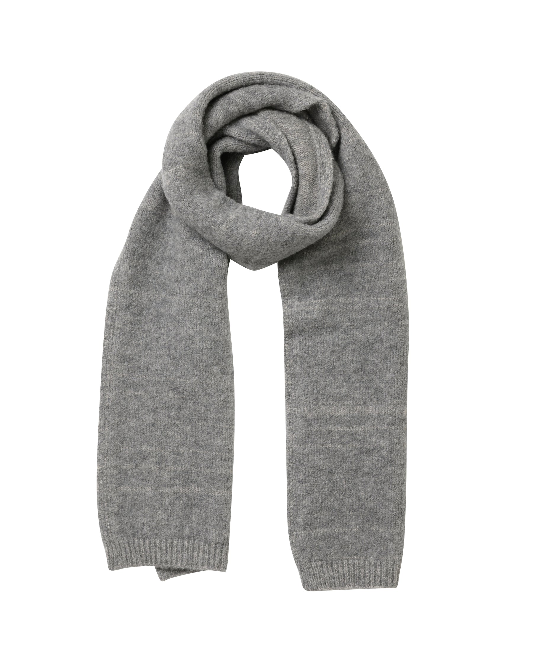 Fleece Scarf • Grey