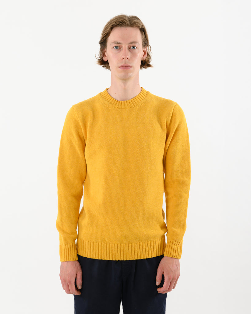 Staple Lambswool Crew • Yellow