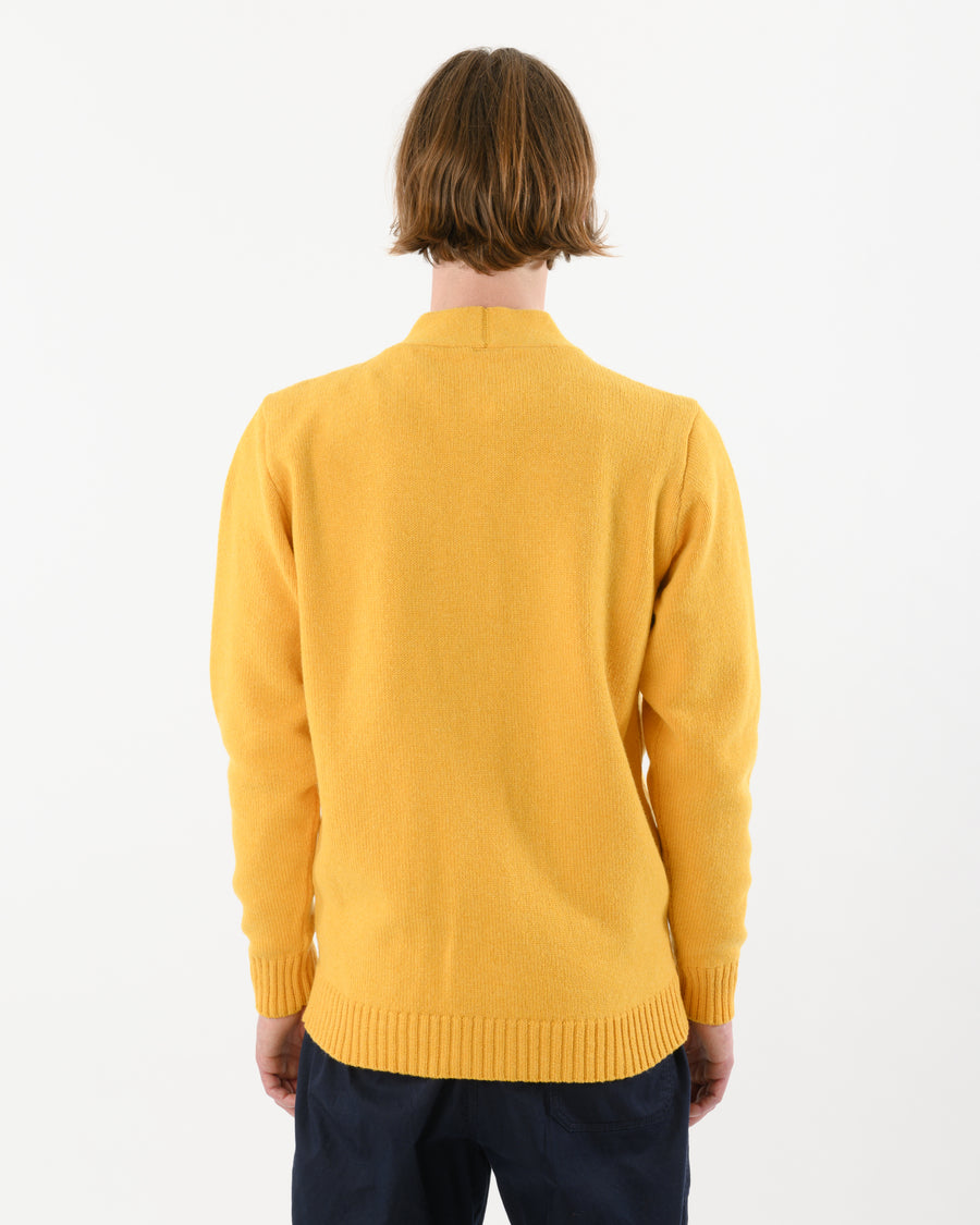 Cardigan Lambswool • Yellow