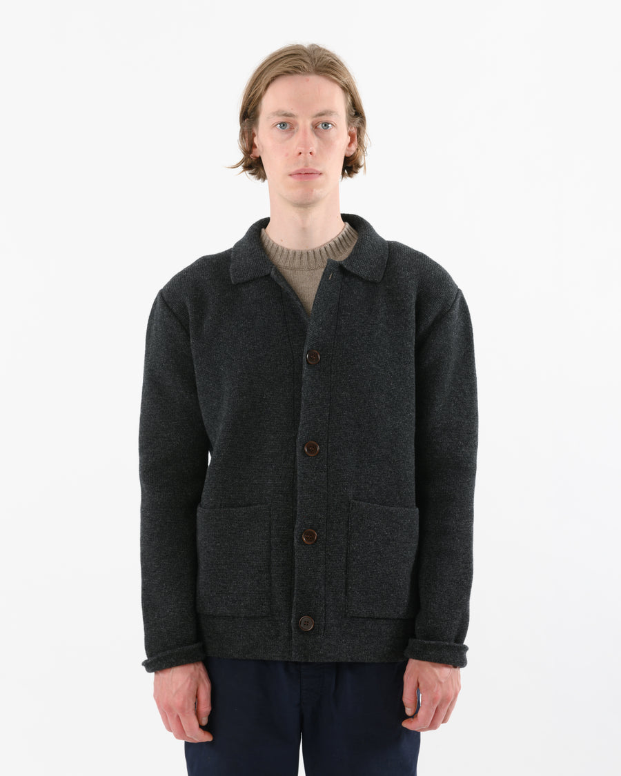 Chore Jacket Lambswool • Charcoal