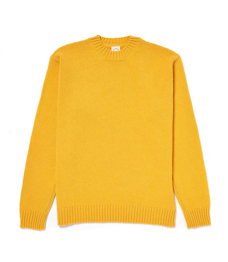 Staple Lambswool Crew Neck • Yellow