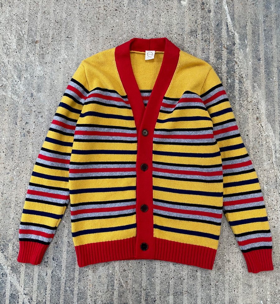 FACTORY SALE- Multi Stripe Cardigan