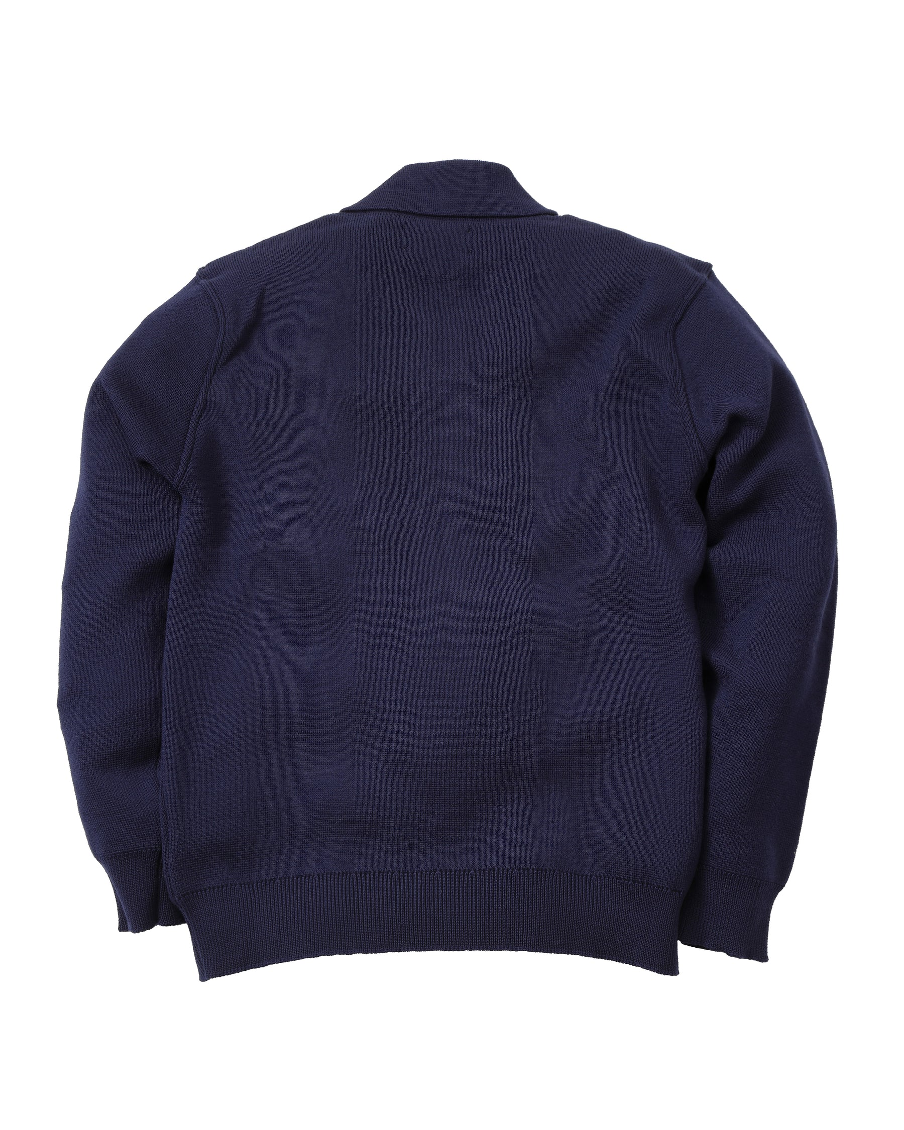 Quarter Zip Merino Smock • Light Navy
