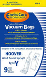 Generic Hoover WindTunnel Upright Type Y Vacuum Bags Microfiltration with Clo...