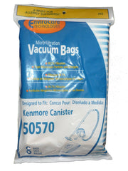 24 Kenmore I Ultra Care 50570 Sears Vacuum Bag, Canister Vacuum Cleaners, 609...