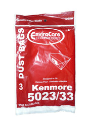 24 Kenmore Sears Allergy Vacuum BAG, Canister Vacuum Cleaners, 5023-5033 bag ...