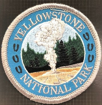 Circle Old Faithful Patch