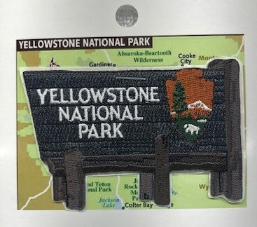 Yellowstone Sign Patch