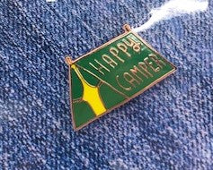 Happy Camper Tent Pin