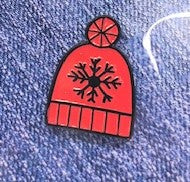 Snow Hat Pin