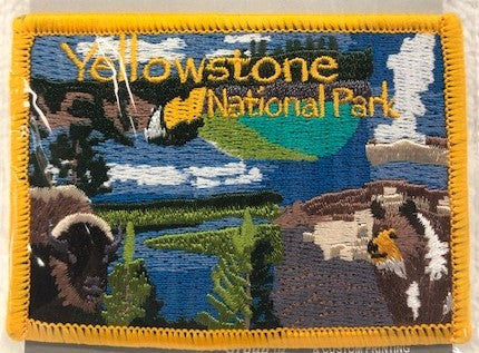 YNP Collage Patch