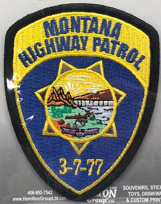 MT Highway Patrol Patch