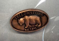 Yellowstone Grizzly Pin