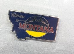Montana Welcome Sign Pin